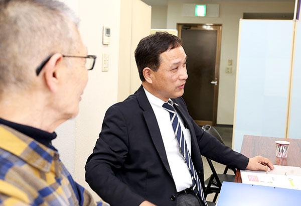 熊本市防犯モデル地区推進委員会 会長 木崎宏さん
